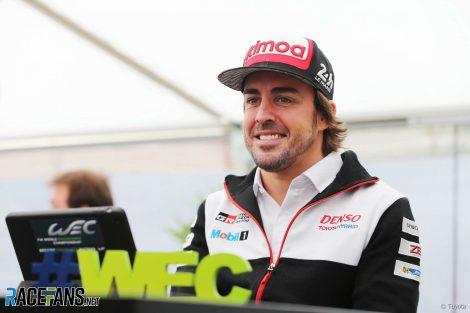 Fernando Alonso, Toyota, World Endurance Championship, Spa, 2018