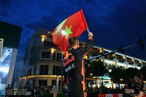 David Coulthard, Red Bull, Vietnam, 2018