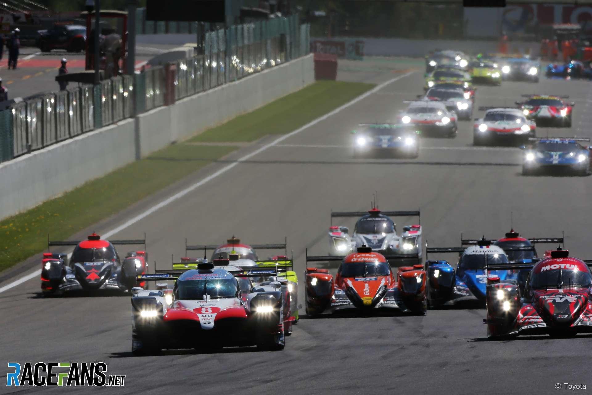 Toyota, Spa-Francorchamps, WEC, 2018 · RaceFans