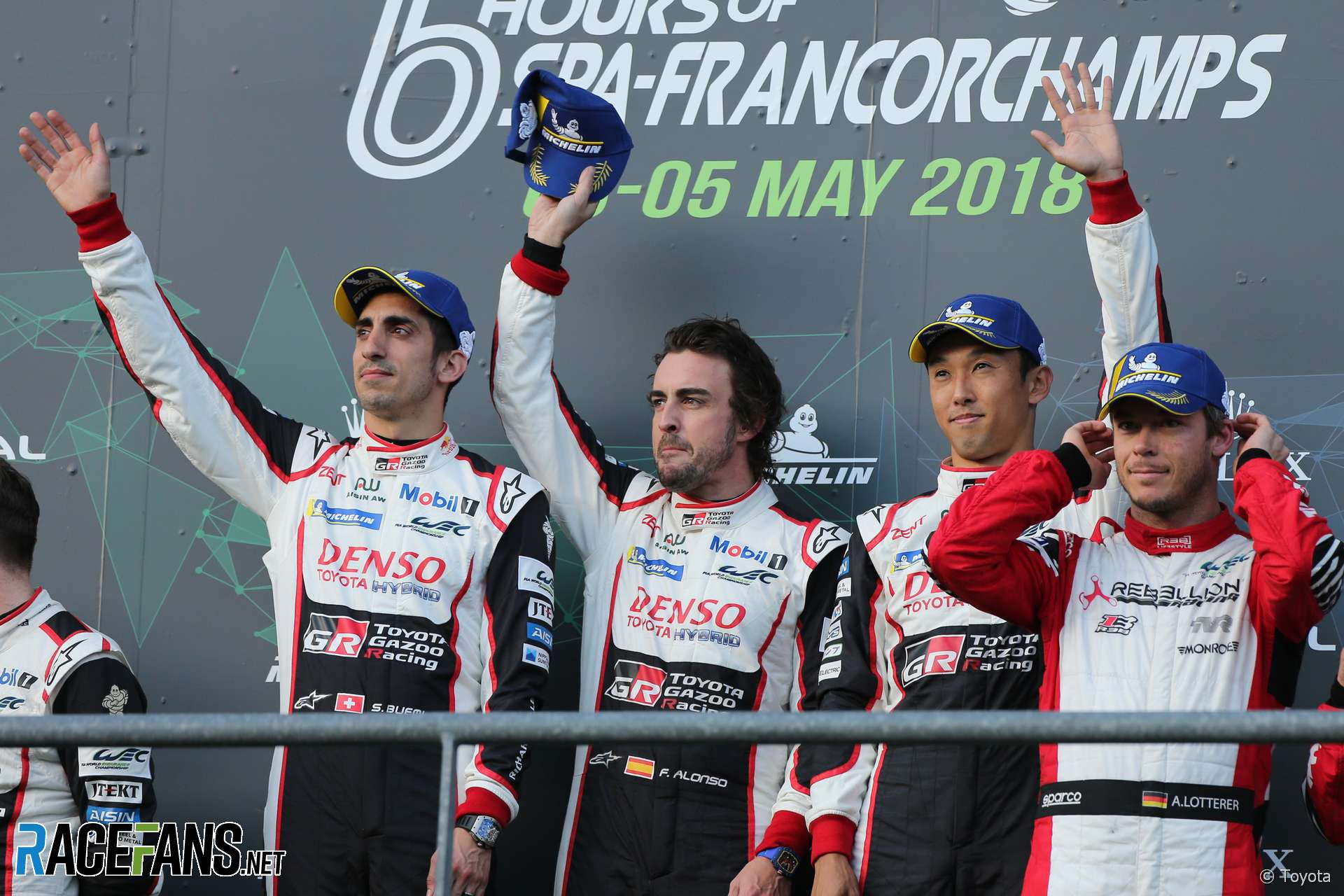 Sebastien Buemi, Fernando Alonso, Kazuki Nakajima, Toyota, Spa-Francorchamps, WEC, 2018