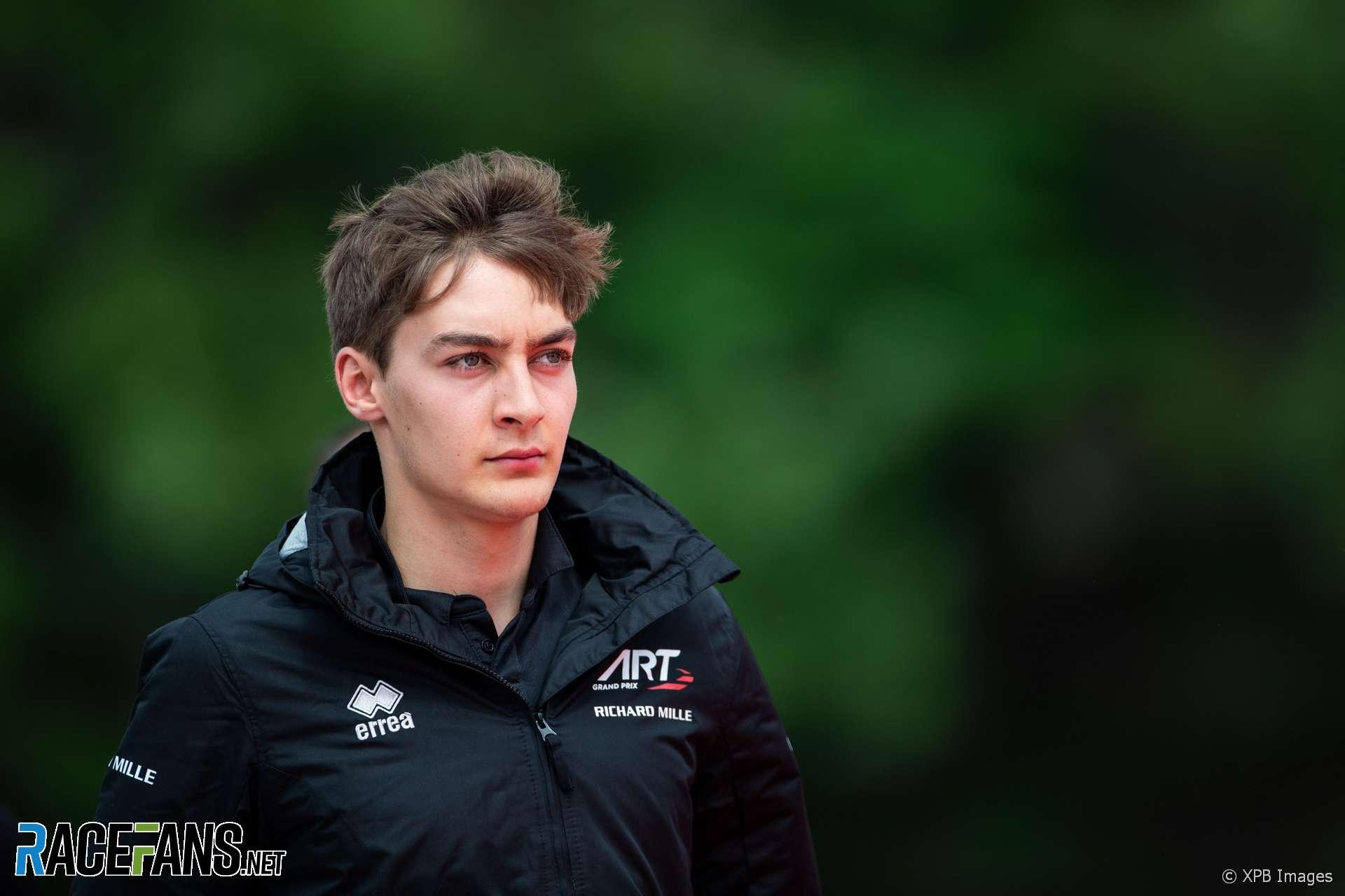 George Russell, Mercedes, Circuit de Catalunya, 2018