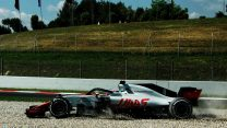 "Grosjean: ""No rational explanation"" for practice spin"
