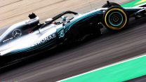 Hamilton leads Mercedes front row lockout in Spanish GP qualifying