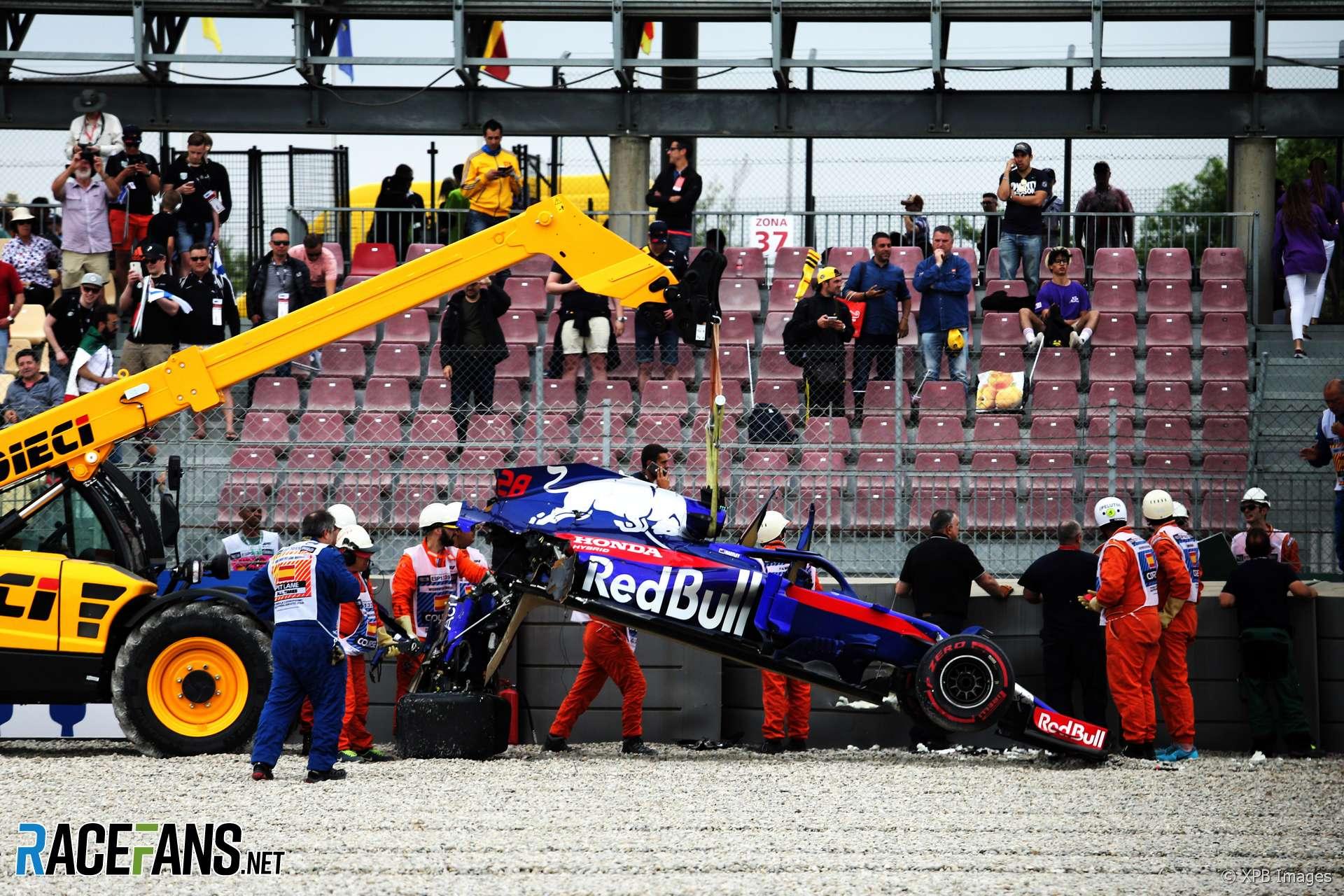 Brendon Hartley, Toro Rosso, Circuit de Catalunya, 2018