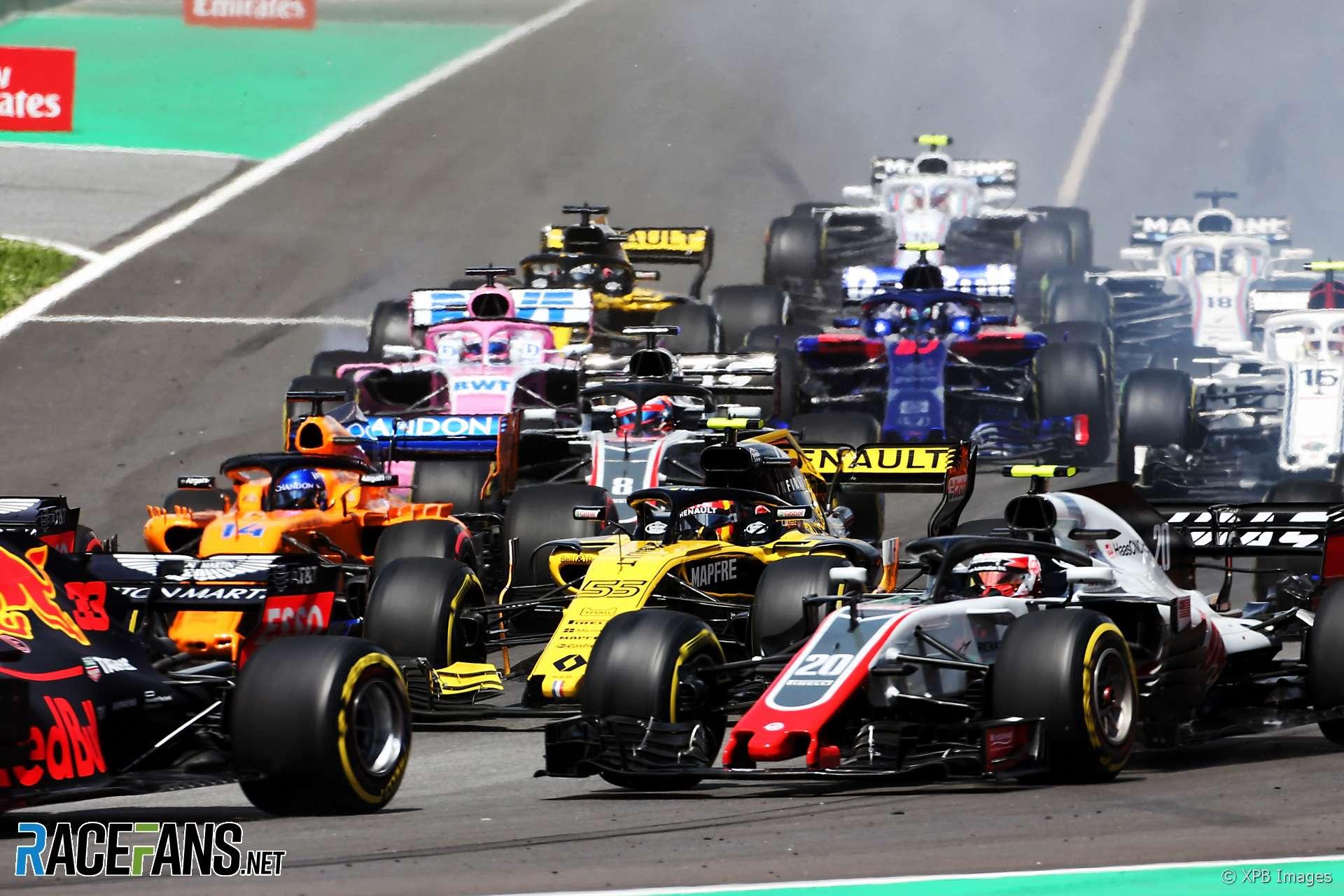 Start, Circuit de Catalunya, 2018