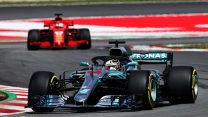"""Hamilton was """"amazed"""" by Mercedes' performance in Spain"""