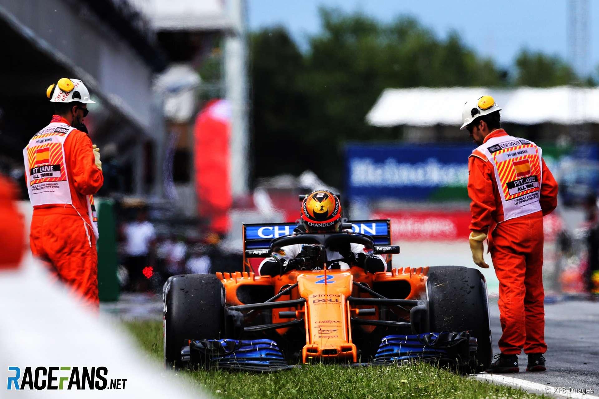 Stoffel Vandoorne, McLaren, Circuit de Catalunya, 2018