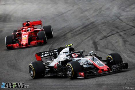 Kevin Magnussen, Haas, Circuit de Catalunya, 2018
