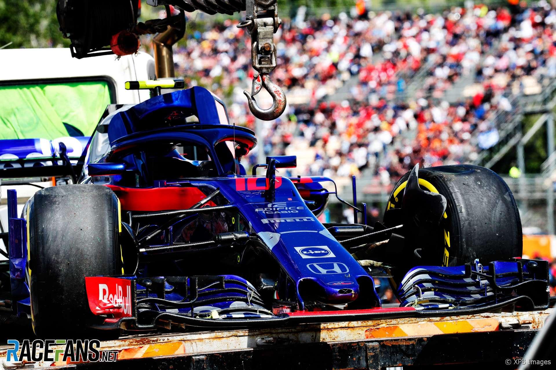 Pierre Gasly, Toro Rosso, Circuit de Catalunya, 2018