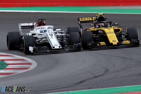 Marcus Ericsson, Carlos Sainz Jnr, Circuit de Catalunya, 2018