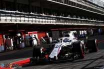 Oliver Rowland, Williams, Circuit de Catalunya