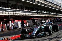 Lewis Hamilton, Mercedes, Circuit de Catalunya