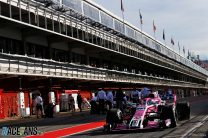 George Russell, Force India, Circuit de Catalunya