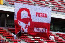 Robert Kubica fans, Circuit de Catalunya
