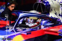 Sean Gelael, Toro Rosso, Circuit de Catalunya