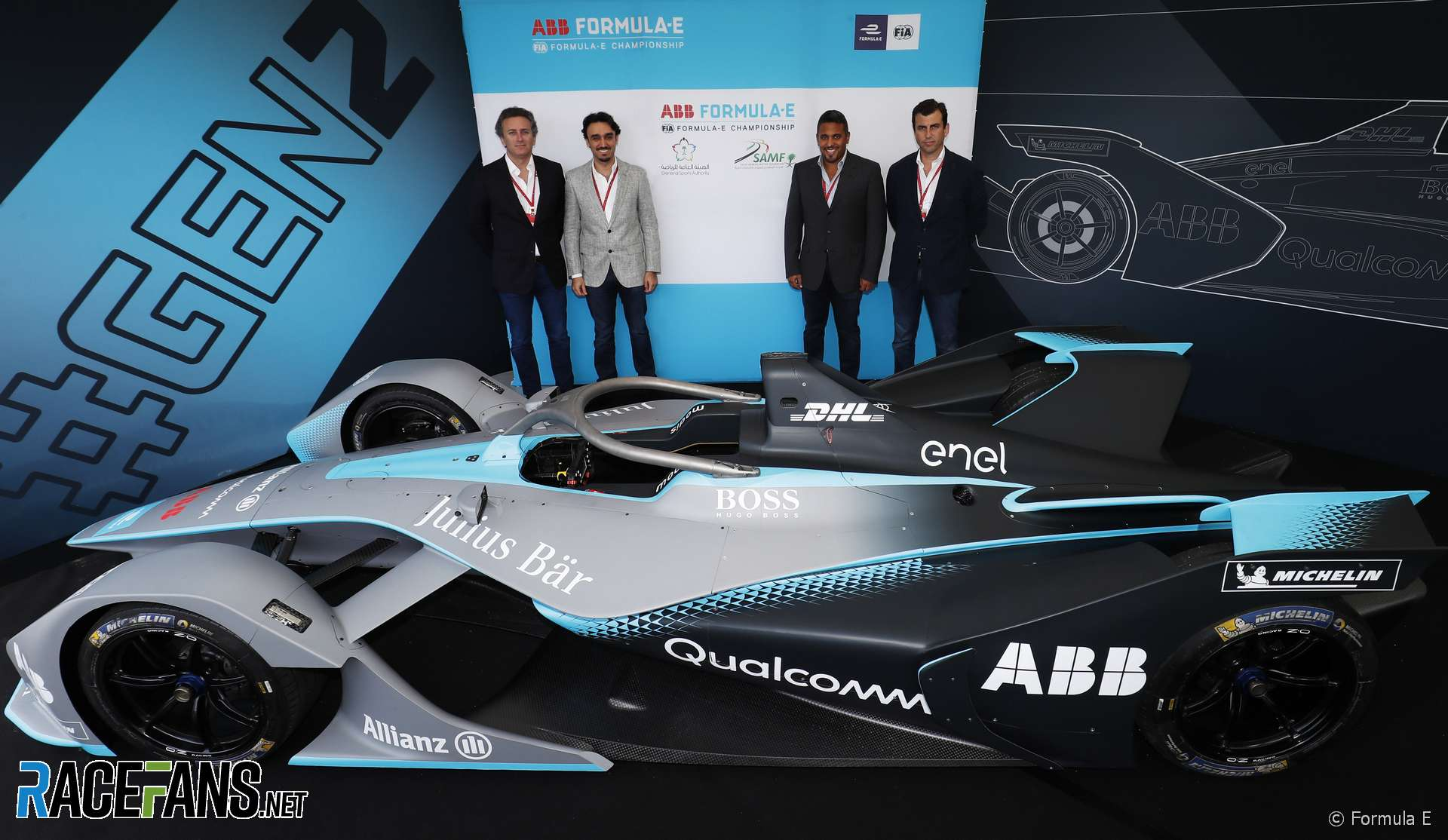 Alejandro Agag, Prince Abdulaziz bin Turki AlFaisal Al Saud, Prince Khaled Bin Sultan Bin Abdullah AlFaisal, Alberto Longo, Formula E, 2018