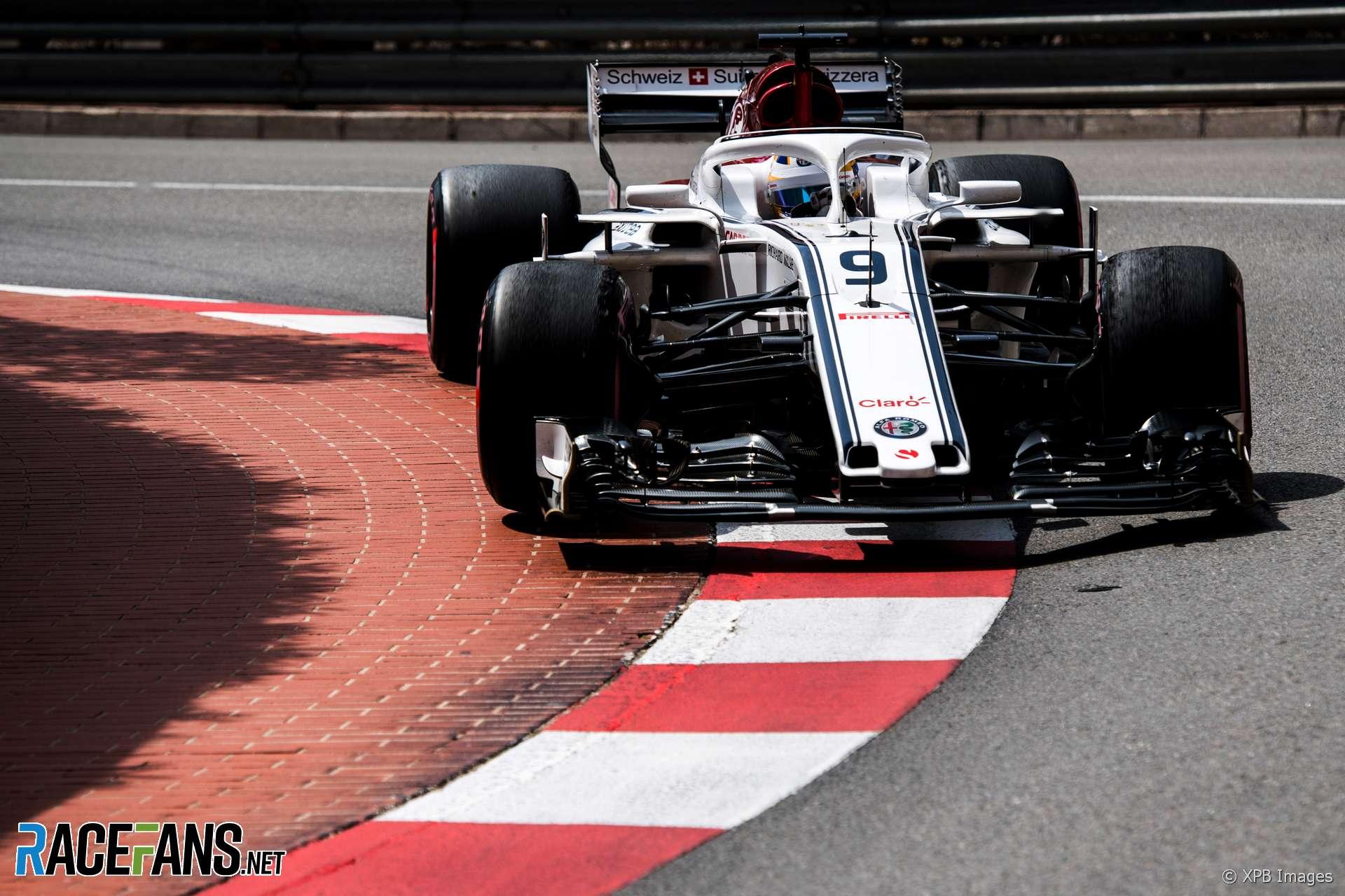 Marcus Ericsson, Sauber, Monaco, 2018