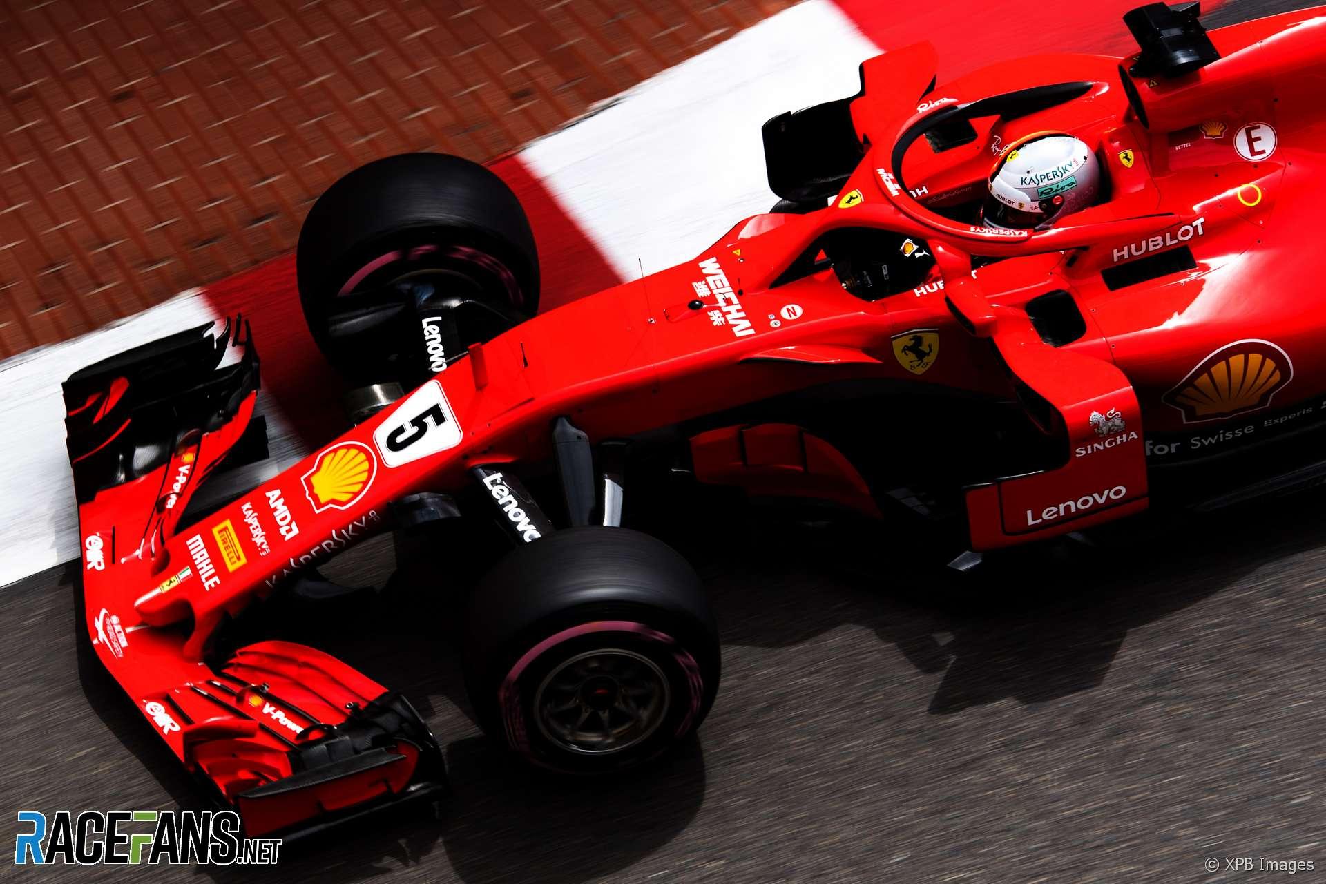 Sebastian Vettel, Ferrari, Monaco, 2018