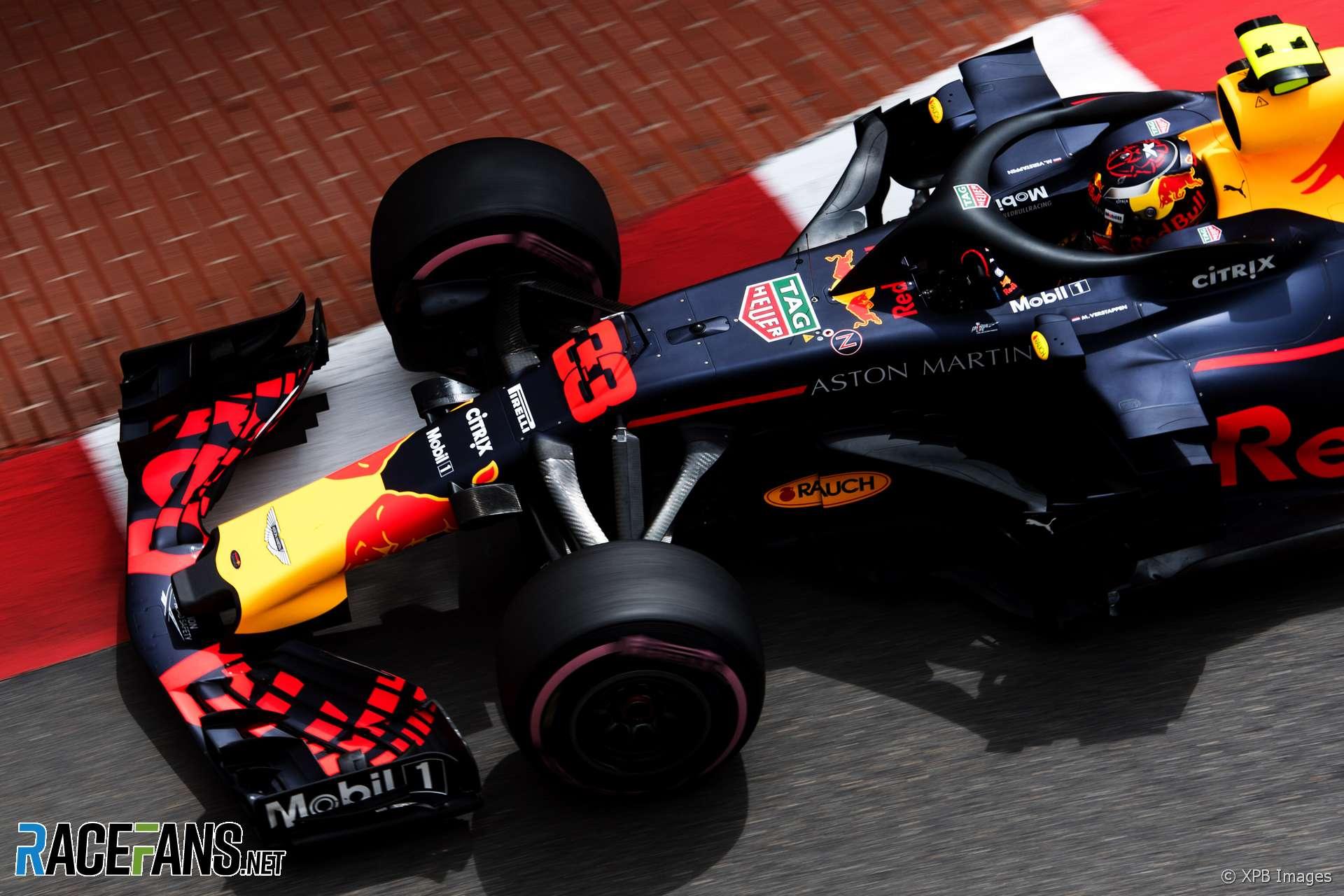 Max Verstappen, Red Bull, Monaco, 2018