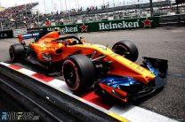 Gearbox problem compromised Vandoorne's qualifying