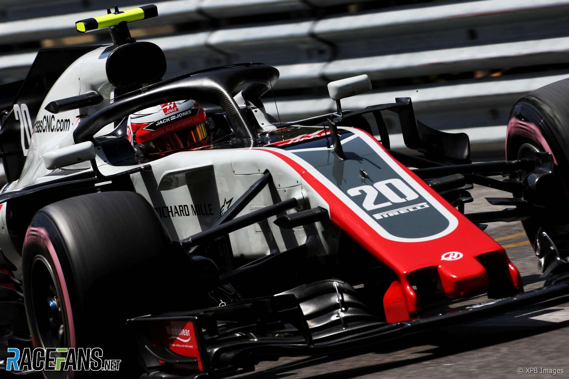 Kevin Magnussen, Haas, Monaco, 2018