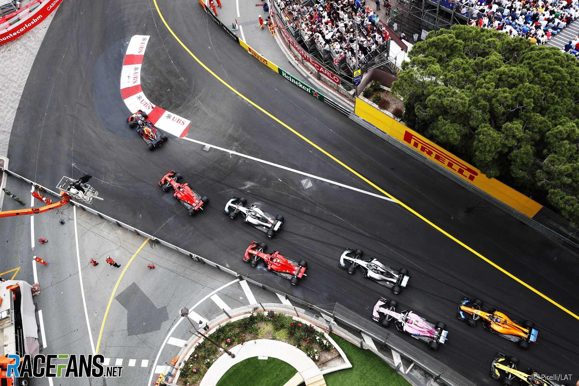 Start, Monaco, 2018