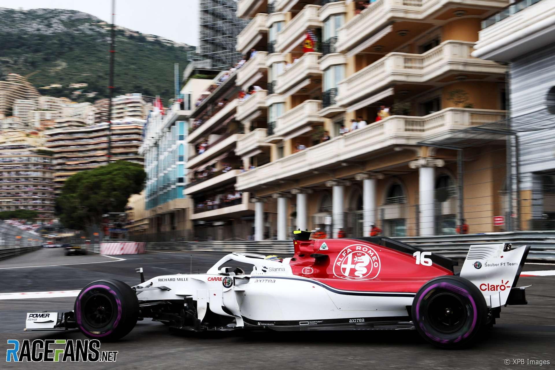 Charles Leclerc, Sauber, Monaco, 2018