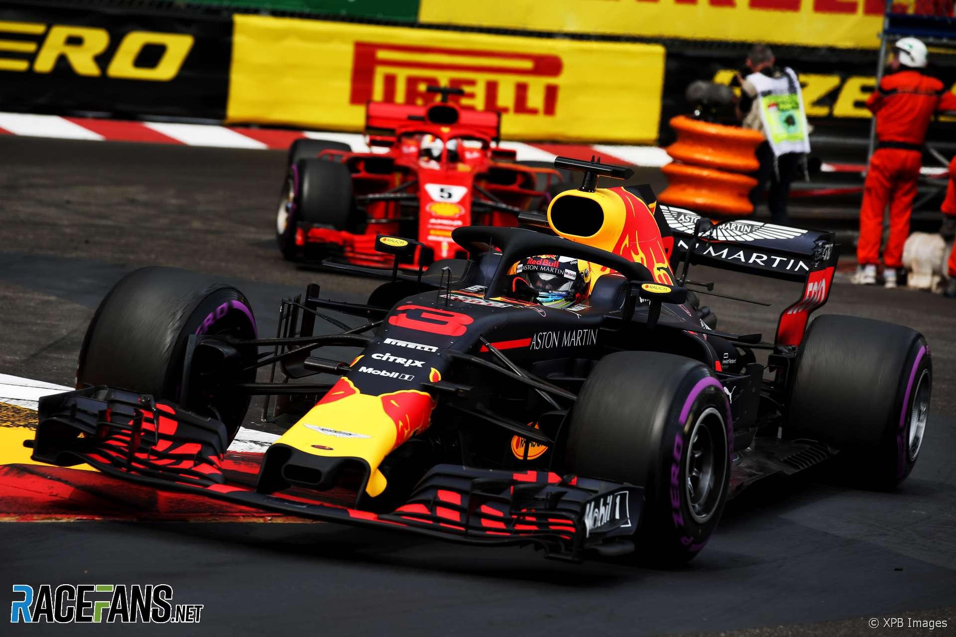 Daniel Ricciardo, Red Bull, Monaco, 2018