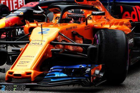 Stoffel Vandoorne, McLaren, Monaco, 2018