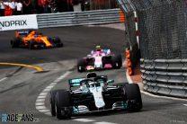 """""""Very frustrated"""" Bottas spent race stuck behind Raikkonen"""