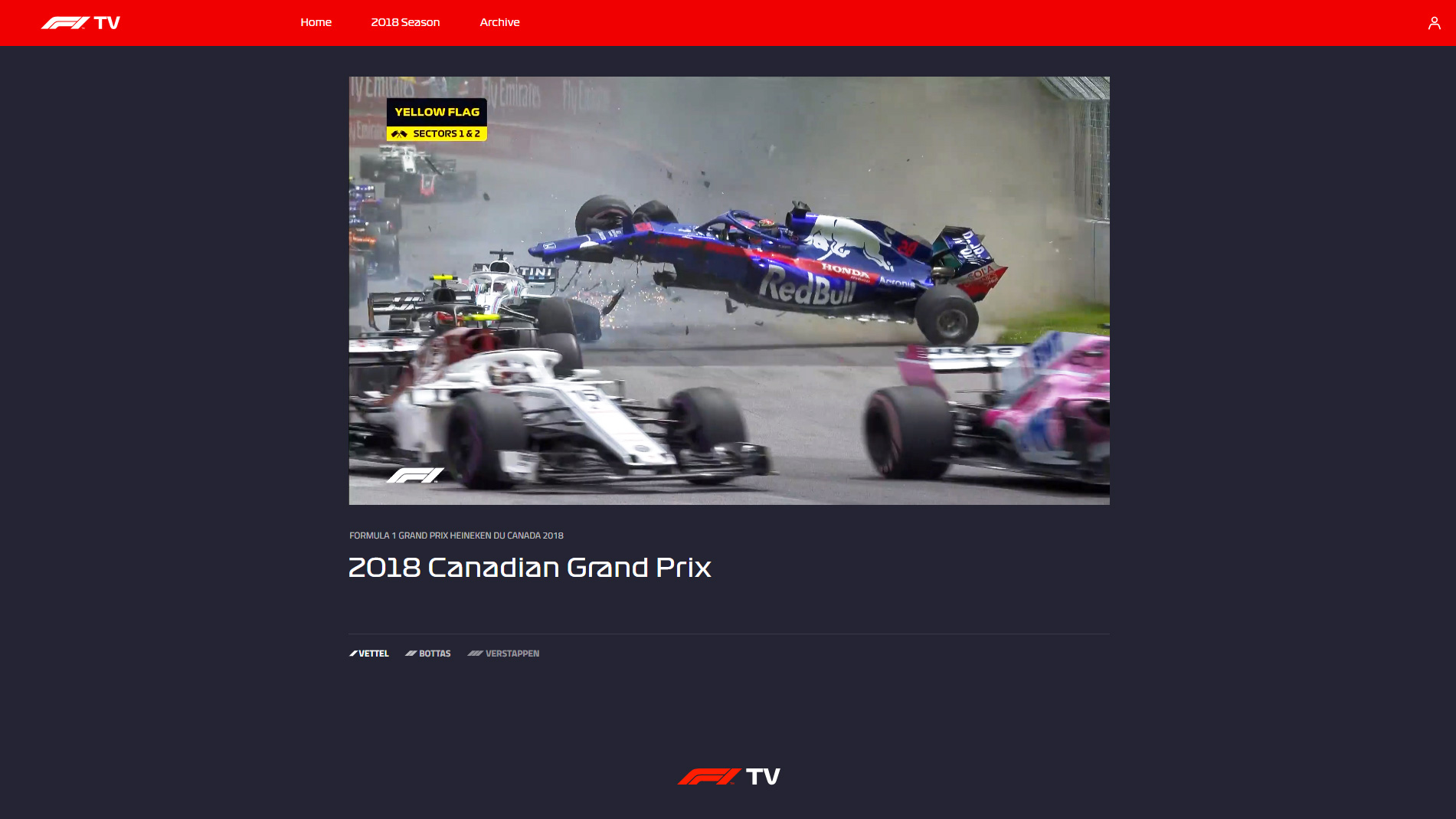 F1 TV Pro is amateur viewing - for now · RaceFans