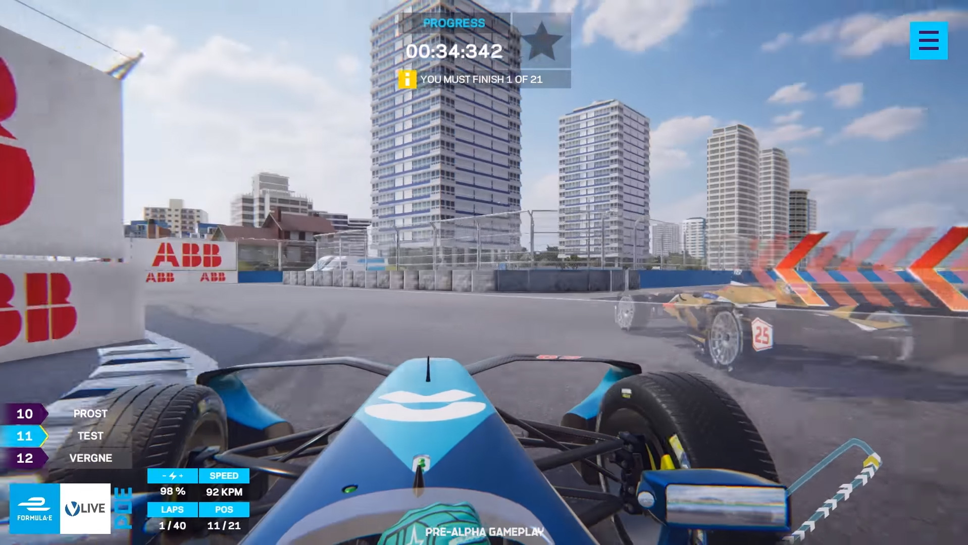 Formula E launches first real-time 'live ghost race' · RaceFans