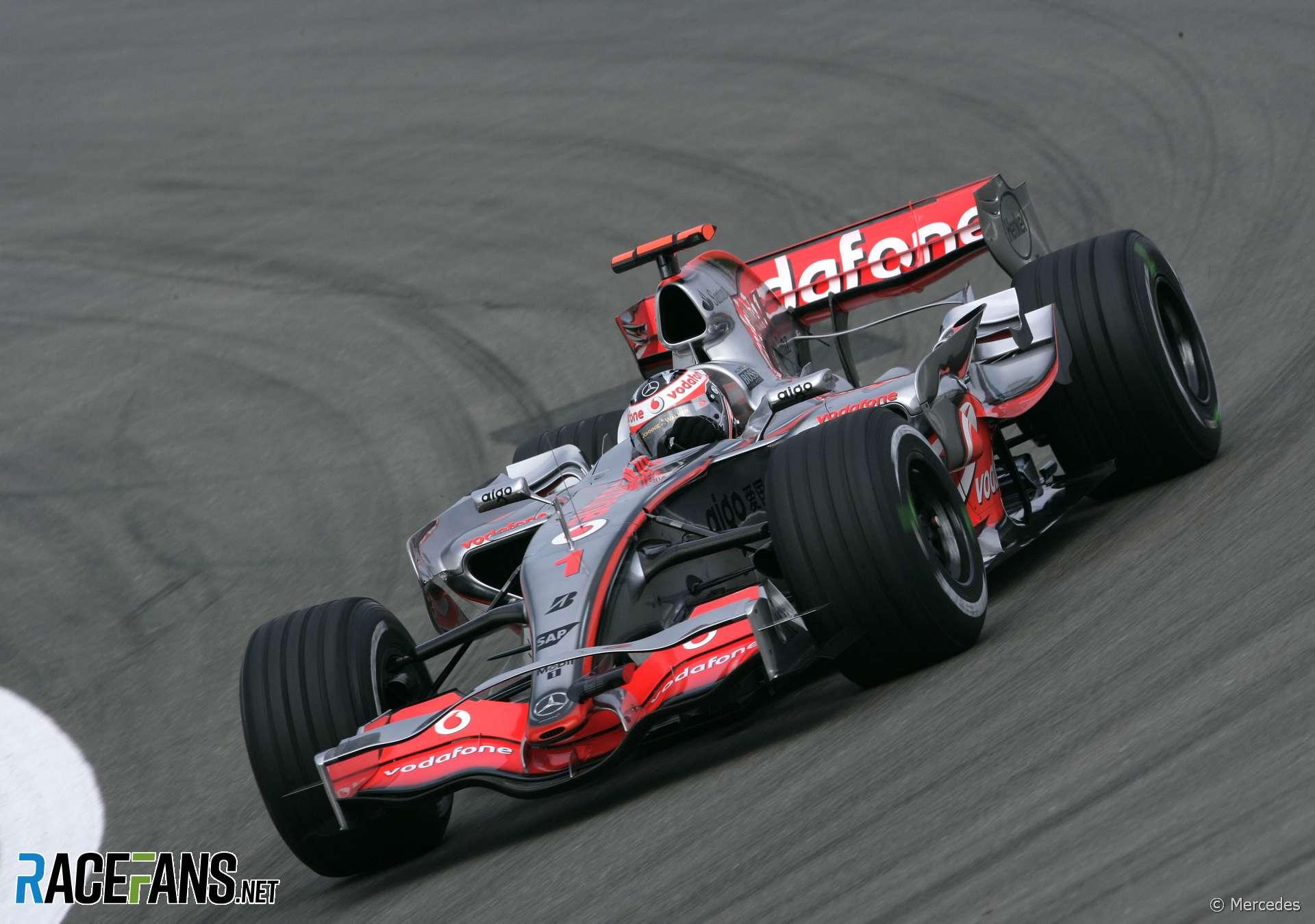 Fernando Alonso, McLaren, Nurburgring, 2007