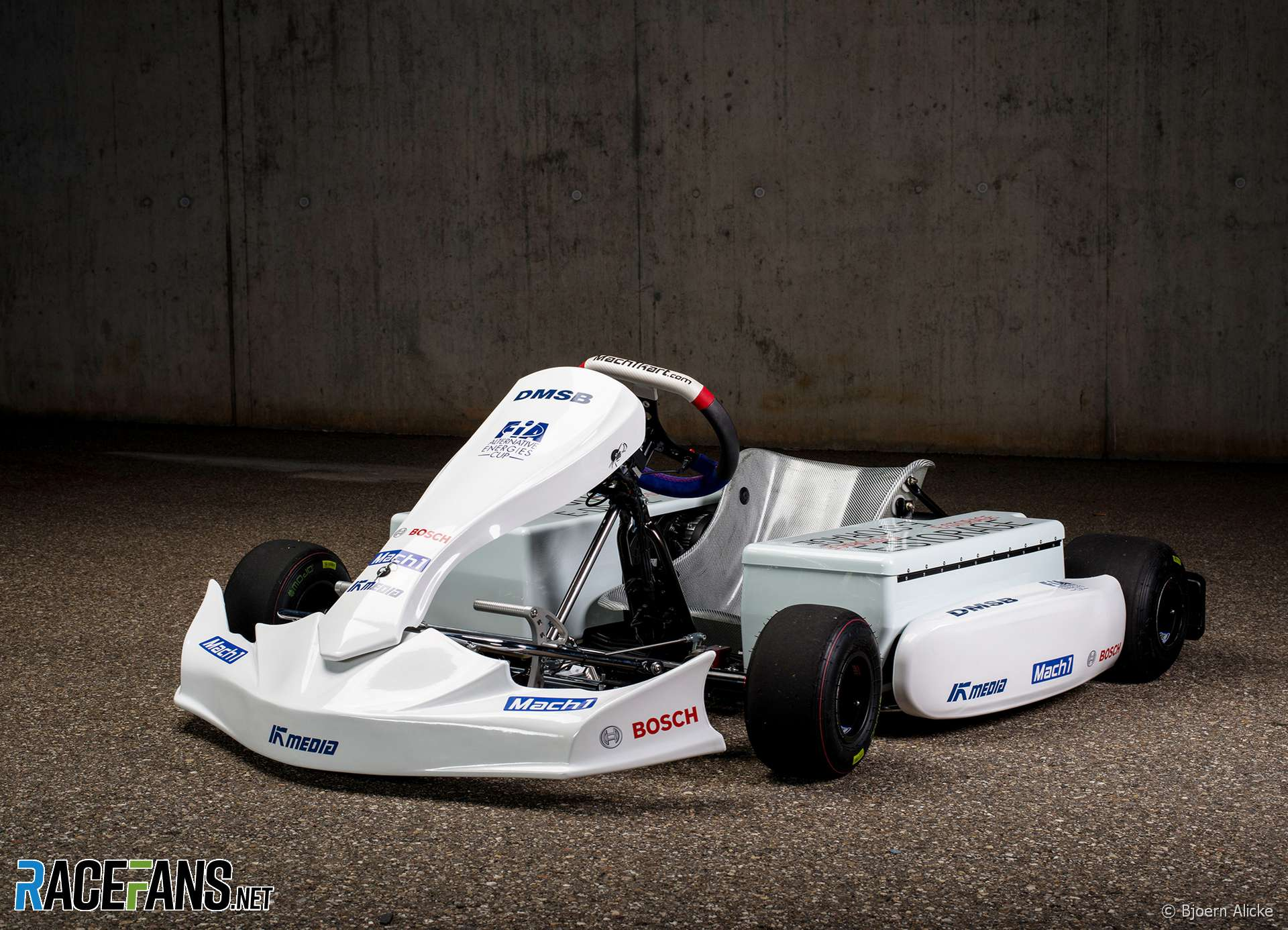 Mach1 electric kart