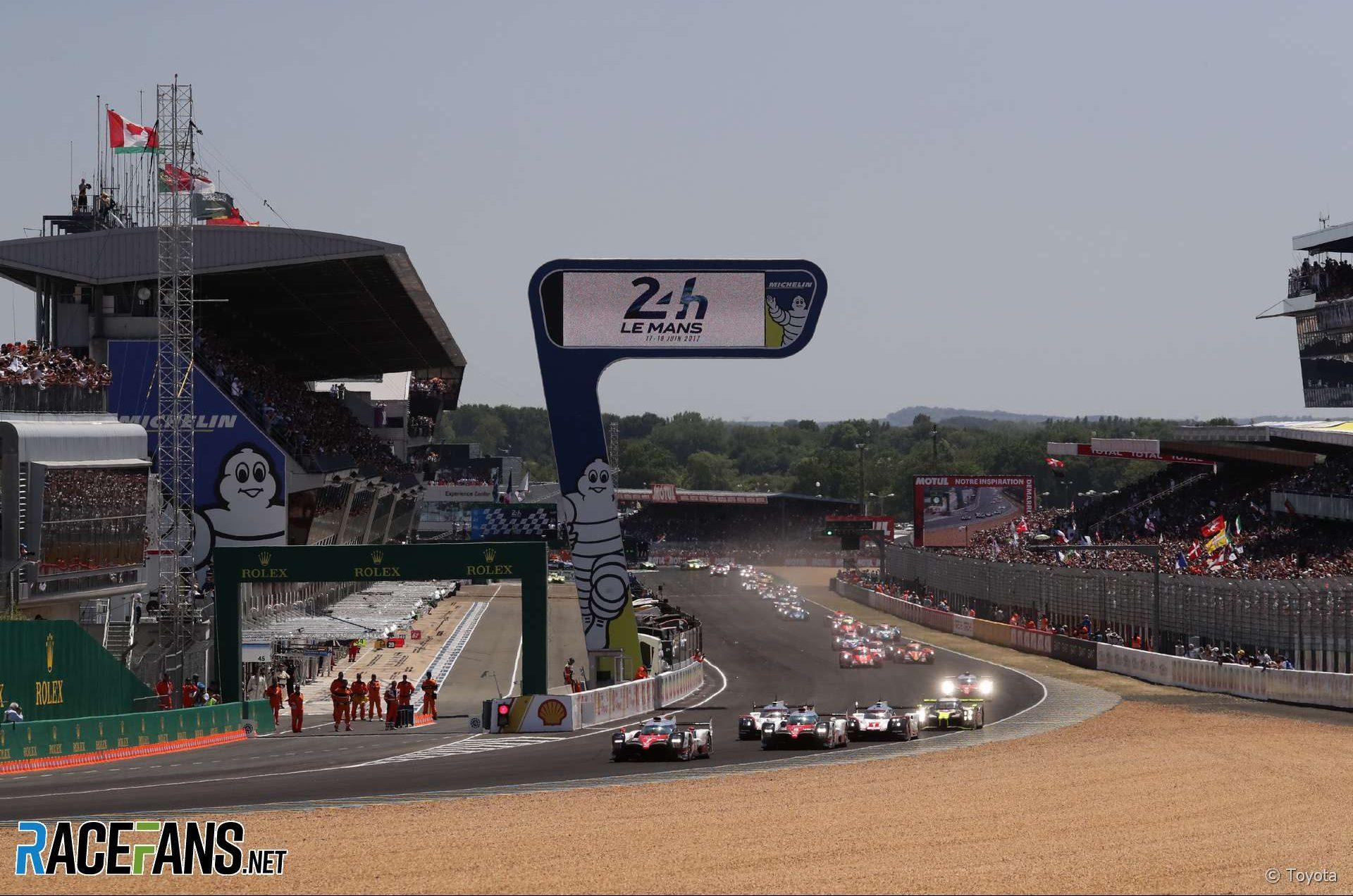 Start, Le Mans, 2018