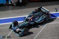 Evans scores Jaguar's first pole as points leader Vergne struggles to 17th