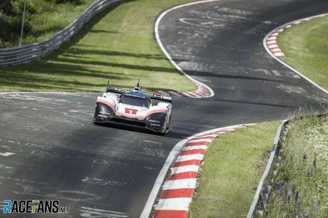 Timo Bernhard, Porsche 919 Tributew, Nurburgring Nordschleife, 2018