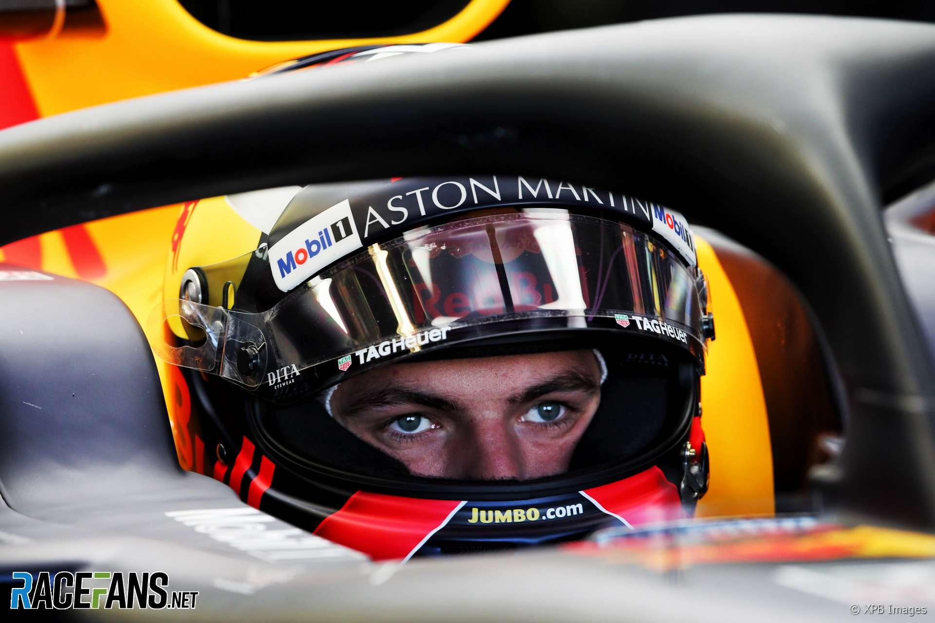 Max Verstappen, Red Bull, Circuit Gilles Villeneuve, 2018