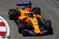 Fernando Alonso, McLaren, Circuit Gilles Villeneuve, 2018