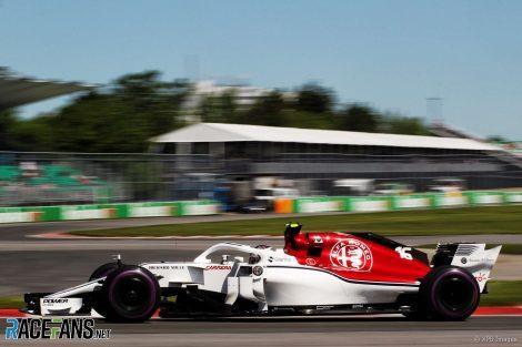 Charles Leclerc, Sauber, Circuit Gilles Villeneuve, 2018