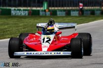 Jacques Villeneuve, Ferrari 312T3, Circuit Gilles Villeneuve, 2018