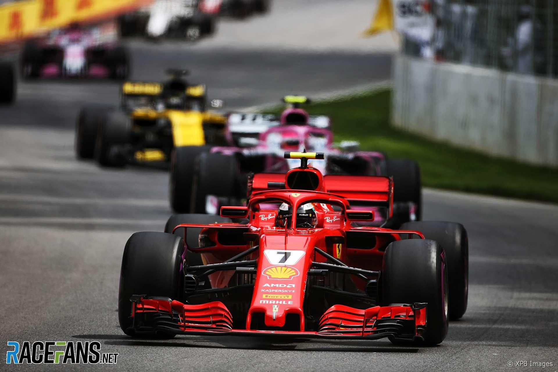 Kimi Raikkonen, Ferrari, Circuit Gilles Villeneuve, 2018