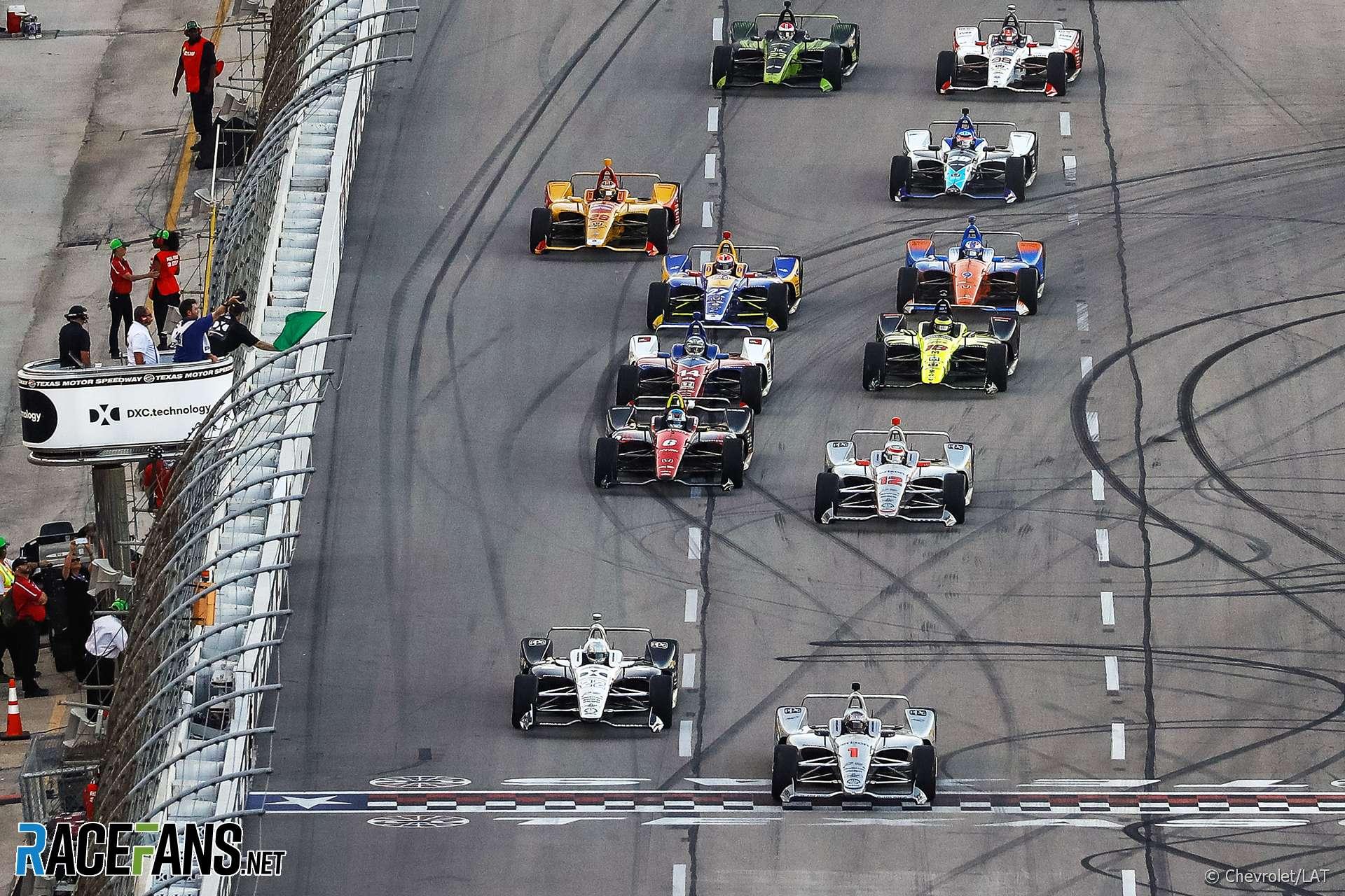 Start, IndyCar, Texas, 2018