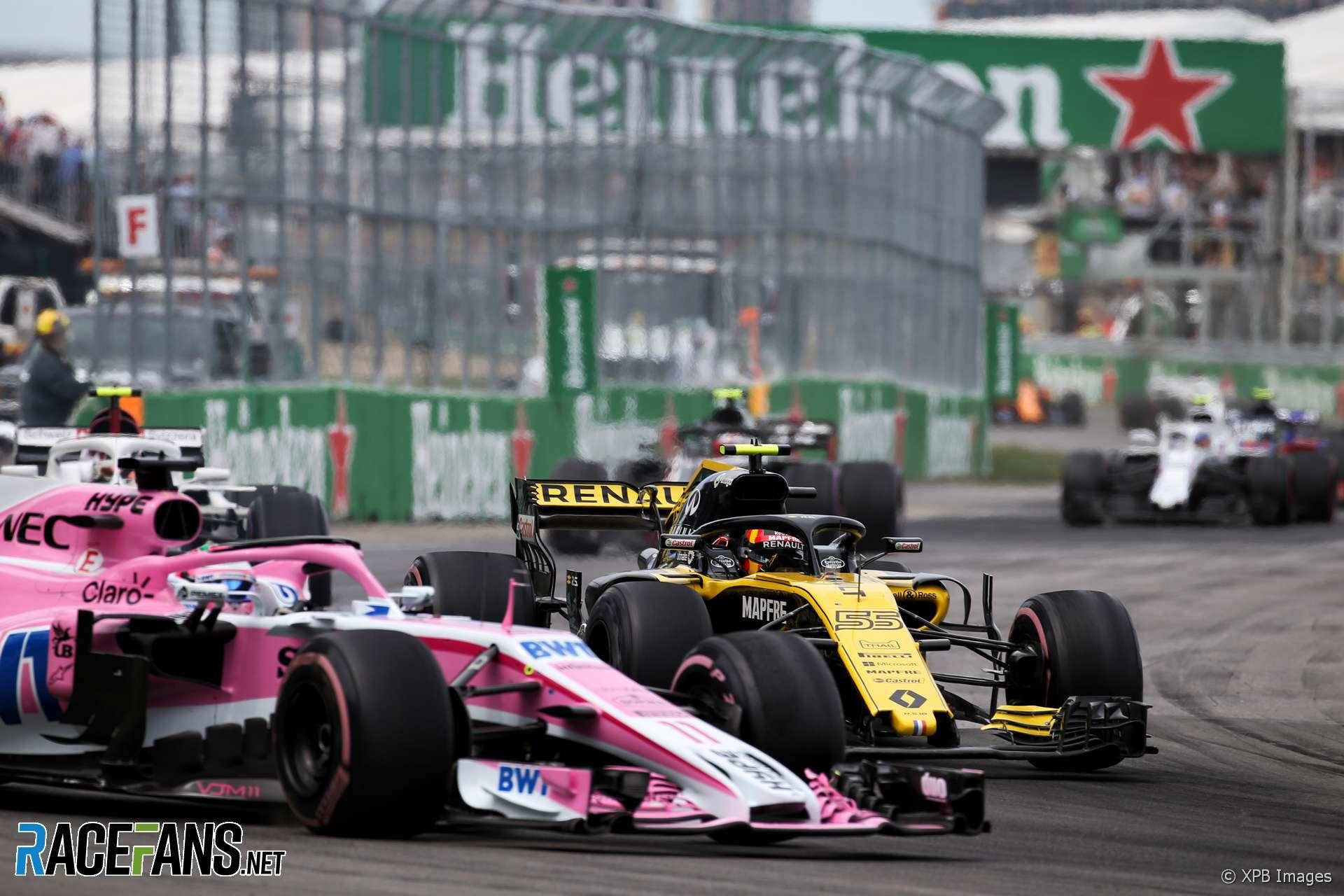 Sergio Perez, Force India, Circuit Gilles Villeneuve, 2018