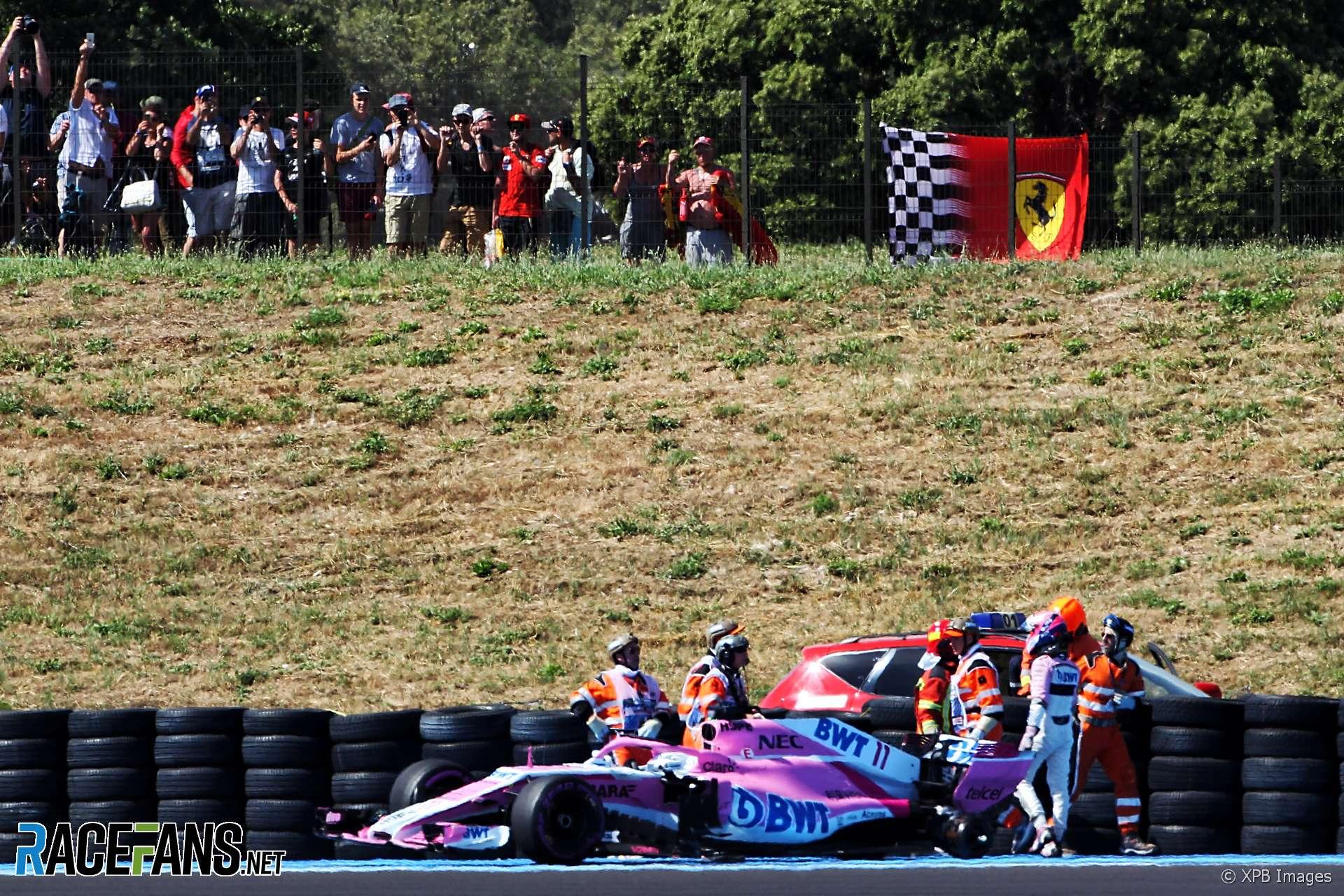 Sergio Perez, Force India, Paul Ricard, 2018
