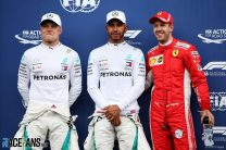 Hamilton leads Mercedes one-two as Leclerc stars