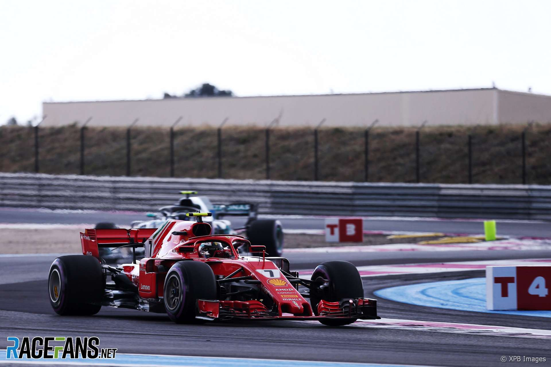 Kimi Raikkonen, Ferrari, Paul Ricard, 2018