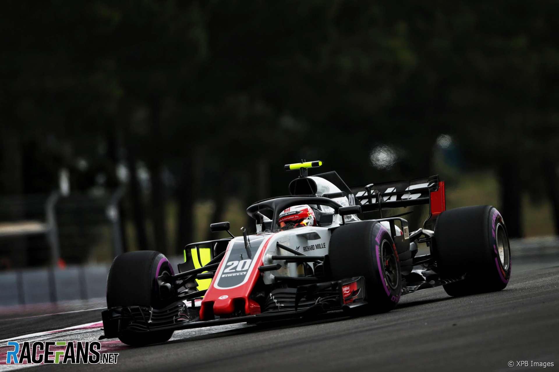 Kevin Magnussen, Haas, Paul Ricard, 2018