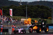Ocon: Grosjean ended race before Gasly