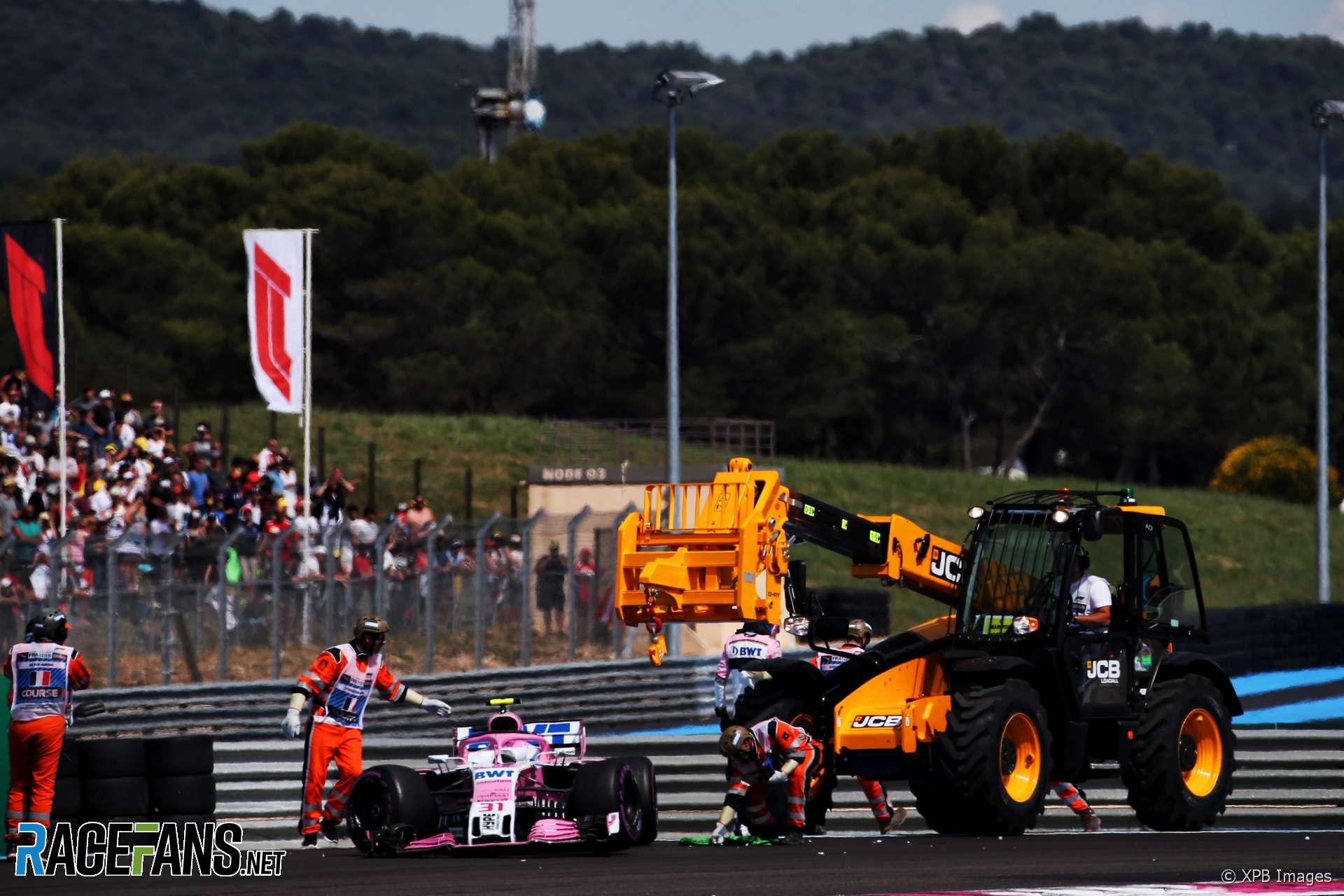 Esteban Ocon, Force India, Paul Ricard, 2018